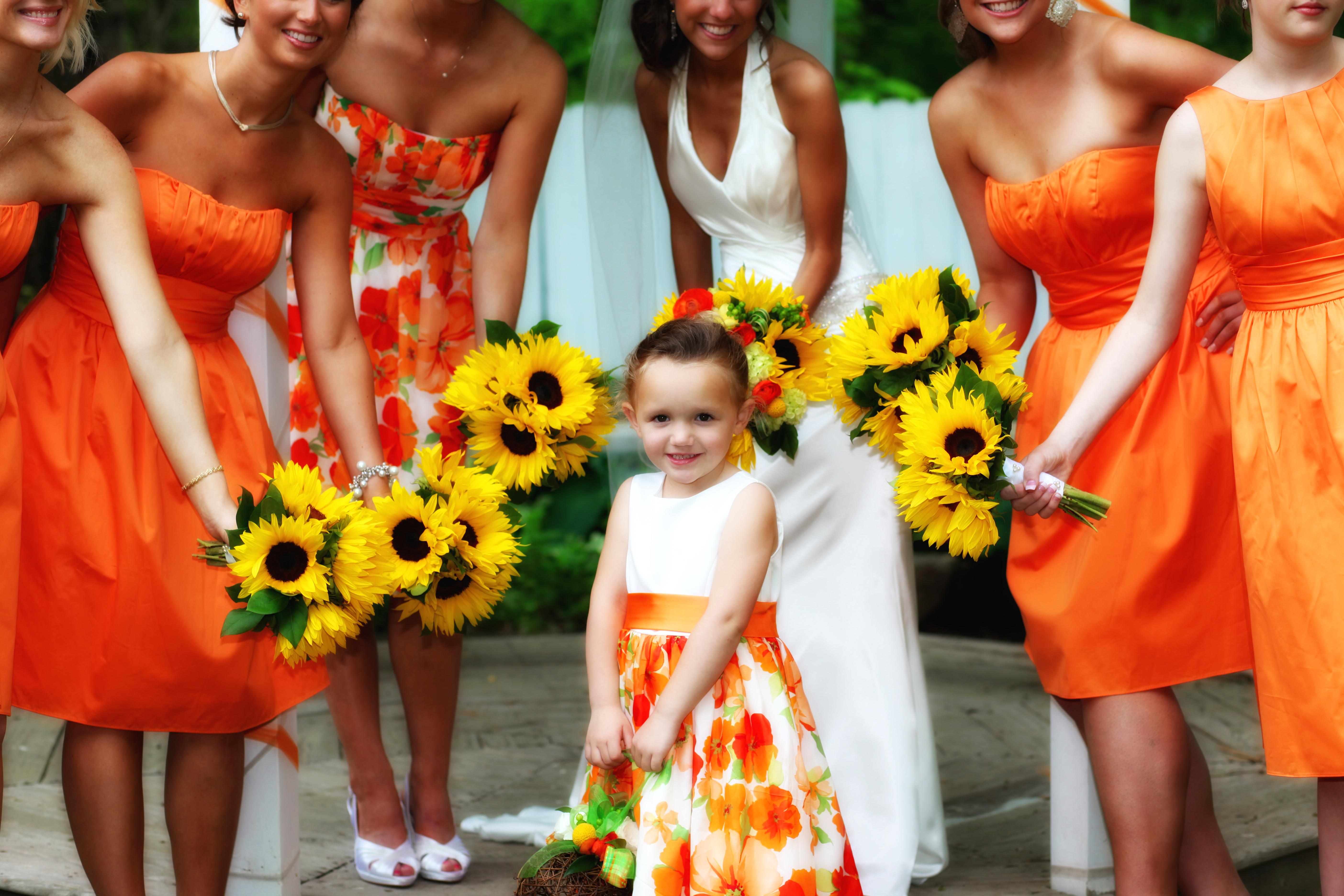 orange wedding themes image collections wedding decoration ideas